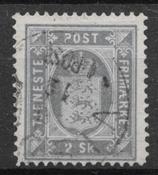Dinamarca 1871 - Tj AFA 1a - Usado
