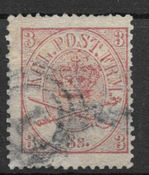 Dinamarca 1865 - AFA 12 - Usado