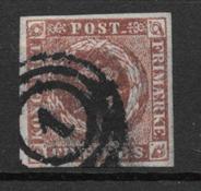 Dinamarca 1852 - AFA Ia - Usado