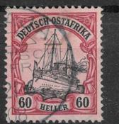 colonias alemanas 1905 - AFA 29 - Usado