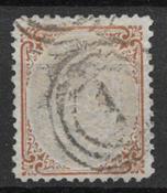 Dinamarca 1870 - AFA 21 - Usado