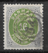 Dinamarca 1871 - AFA 20 - Usado