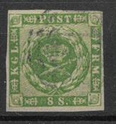 Dinamarca 1858 - AFA 8 - Usado