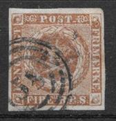 Dinamarca 1854 - AFA IIId - Usado