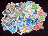Finland - frimærkepakke 200 forskellige stemplet
