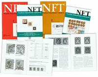 NFT-Nordisk Filatelistisk tidsskrift 10 stk.