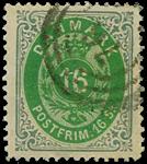 Danmark 1870, AFA nr. 20 - stemplet