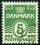 Danmark 1937,AFA nr.234-stemplet