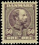Danmark 1904,AFA nr.50- Postfrisk