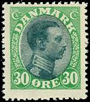 Danmark 1918,AFA nr.103 Postfrisk