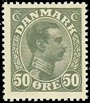 Danmark 1921,AFA nr.129a-Postfrisk