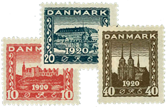 Danmark 1920 - AFA nr. 112-14 - Postfrisk