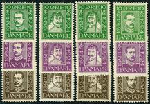Danmark 1924,AFA nr.132-43 Postfrisk