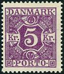 Danmark 1921,porto AFA nr.16-Postfrisk