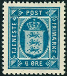 Danmark 1914-20,Tjeneste AFA nr.13 postfrisk