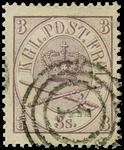 Danmark 1864 afa nr.12 stemplet