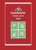 AFA Danmark Fireblokke frimærkekatalog 2006