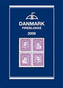 AFA Danmark 4-blokliste frimærkekatalog 2008