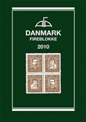 AFA Danmark 4-blokliste frimærkekatalog 2010