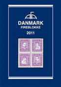 AFA Danmark 4-blokliste frimærkekatalog 2011