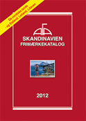 AFA Skandinavien frimærkekatalog 2012