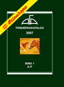 AFA stamp catalogue - Eastern Europe 2007 - Part 1