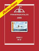 AFA Vesteuropa frimærkekatalog 2006 - Bind 2