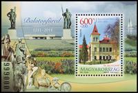 Ungarn - Frimærkets dag / turisme - Postfrisk miniark
