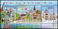 Ungarn - Forlystelsespark - Postfrisk miniark