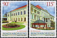 Hungary - Day of the stamps, tourism - Mint set 2 v