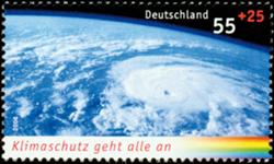 Tyskland - Miljøbeskyttelse - Postfrisk frimærke