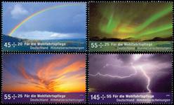 Tyskland - Vejrfænomener - Postfrisk sæt 4v