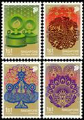 Singapore - Festivaller - Postfrisk sæt 4v