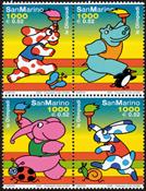 San Marino - Olympics - Mint 4v