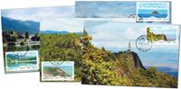 Kina - Landskaber - Flot sæt maxikort