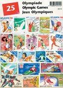 25 Jeux Olympiques