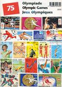 Olympische Spelen - 75 verschillende postzegels