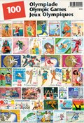 100 timbres Jeux Olympiques