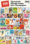 OL - Frimærkepakke - 150 frimærker