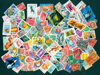 France - 100 different stamps
