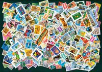 France - 600 different stamps