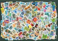 France - 800 timbres oblitérés - Paquets de timbres