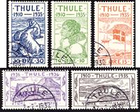Groenland Thule oblitéré