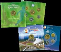 Corea - Serie monedas en bronce CM 2001+2002