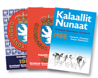 Grønland årsmapper 1980-1989