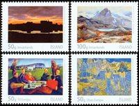 Island - Islandsk billedkunst II - Postfrisk sæt 4v