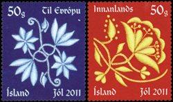 Islande - Noël 2011 - Série neuve 2v