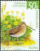 Island - Fuglebeskyttelse - Postfrisk frimærke