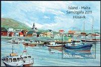 Island - Husavik - Postfrisk miniark