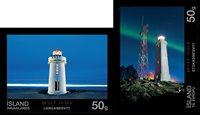 Island - Fyrtårne - Postfrisk sæt 2v